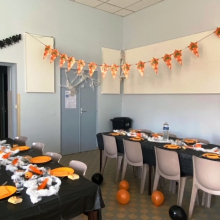 Halloween en restauration scolaire le 02/11/20
